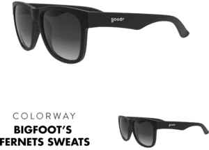 goodr BFG Sunglasses - Bigfoot´s Fernet Sweats