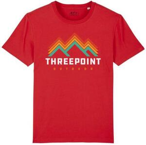 Threepoint - Retro Logo - Red
