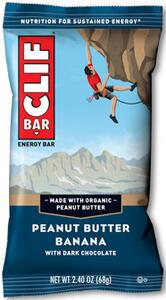 Clif Bar - Peanut Butter Banana with Dark Chocolate