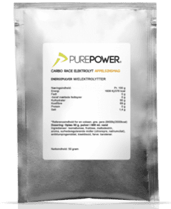 PurePower Carbo Race Elektrolyt Appelsin - 50 g