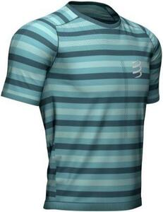 Compressport - Performance  SS T-shirt - Nile Blue