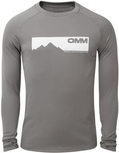 OMM - Bearing Tee L/S - Grey Mountains